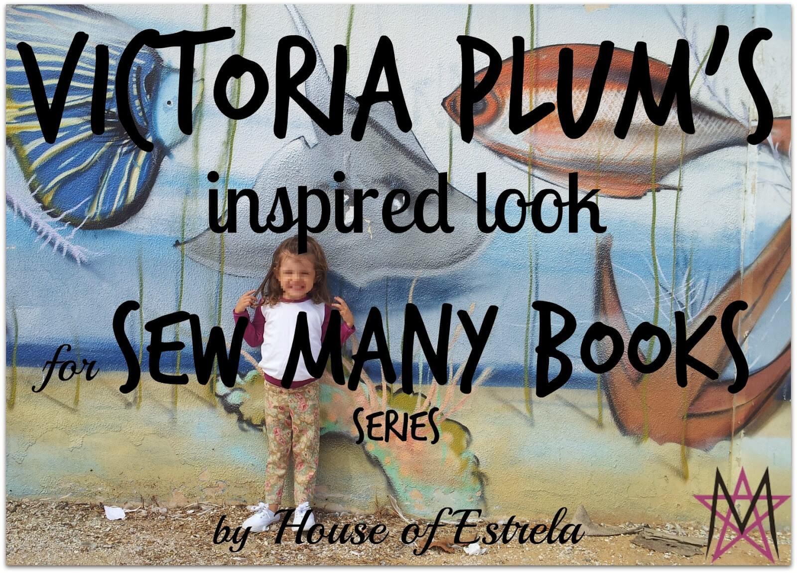 Sew Many Books Victoria Plum {House of Estrela}