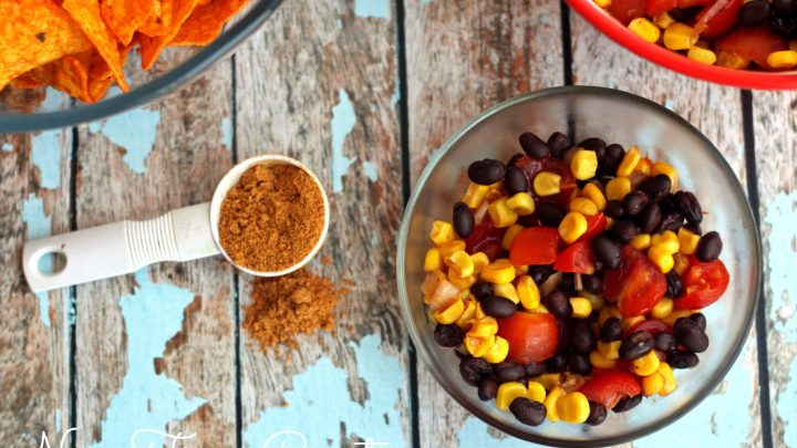 Corn Salsa Recipe with Herdez Cocina Mexican Bowls
