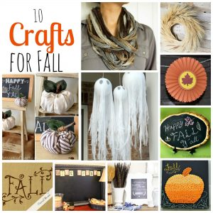 10 Crafts for Fall