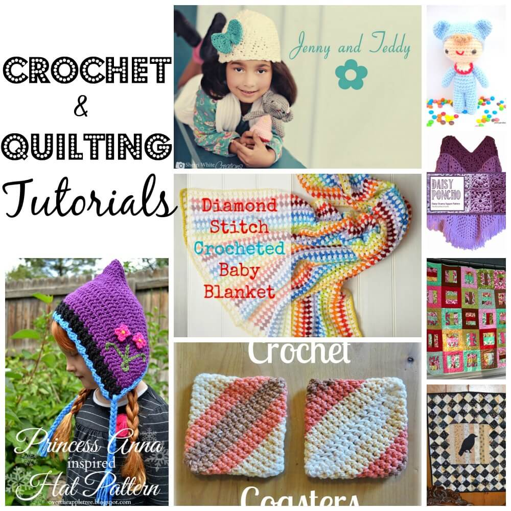 crochet and quilting tutorials