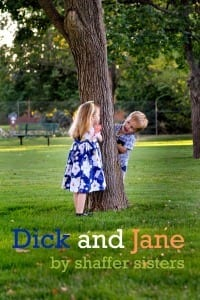 Sew Many Books Dick and Jane {The Shaffer Sisters}