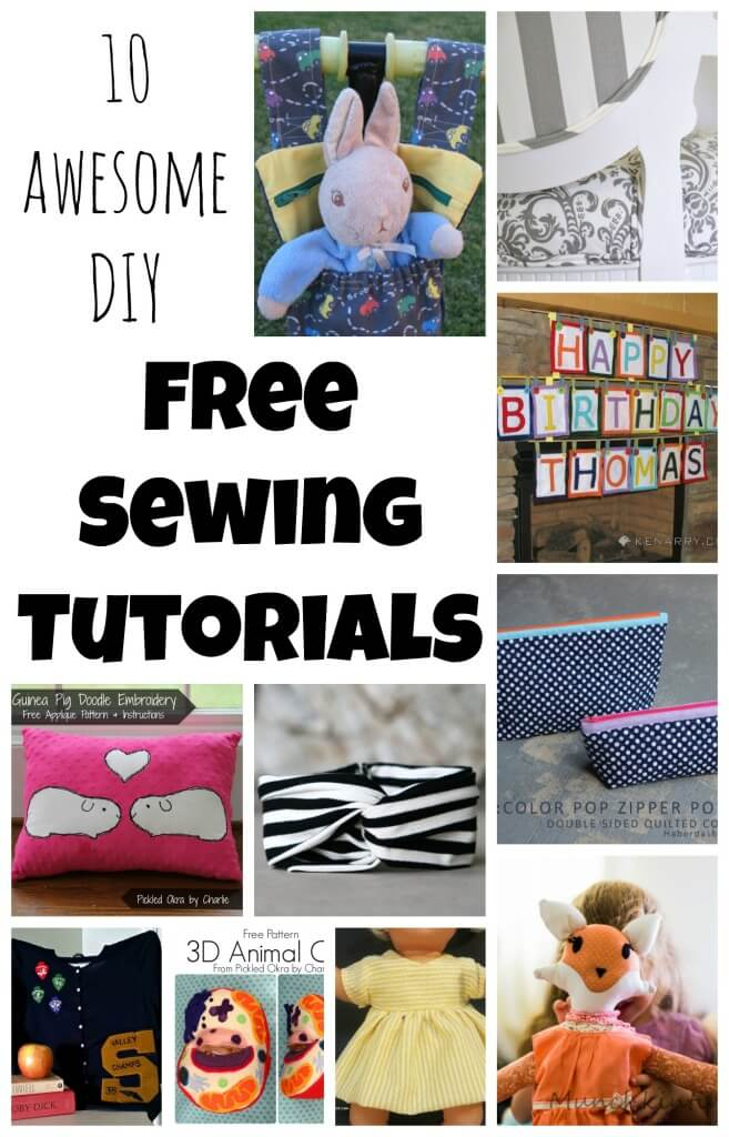 free sewing tutorials