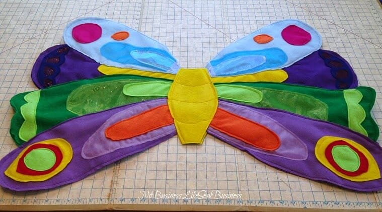 Very Hungry Caterpillar Butterfly Costume Cute Felt Proje...