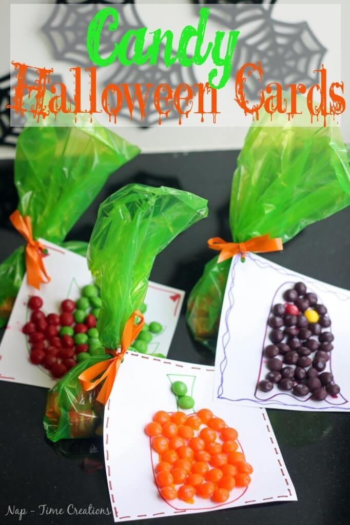 Candy Halloween Cards #SweetOrTreat #Cbias #shop1
