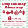 Etsy Holiday Giveaway SQUARE Title