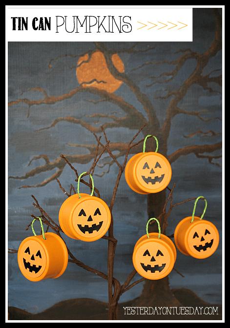 Fall-Decor-Tin-Can-Pumpkins