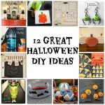 12 DIY Halloween ideas #halloweenDIY #halloweencrafts