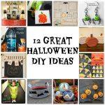 12 DIY Halloween ideas #halloweenDIY #halloweencrafts