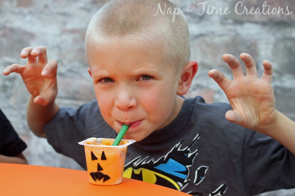 Snack Pack Jack O Lantern1 #SnackPackMixins #CollectiveBias