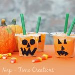 Snack Pack Jack O Lanterns #SnackPackMixins
