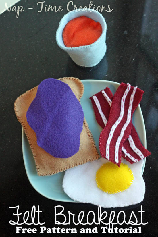 Felt Food from Naptime Creations