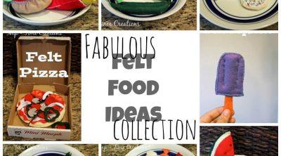 Felt Food ideas #feltfood on www.nap-timecreations.com