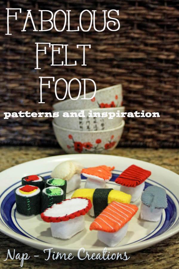 Felt Food Ideas