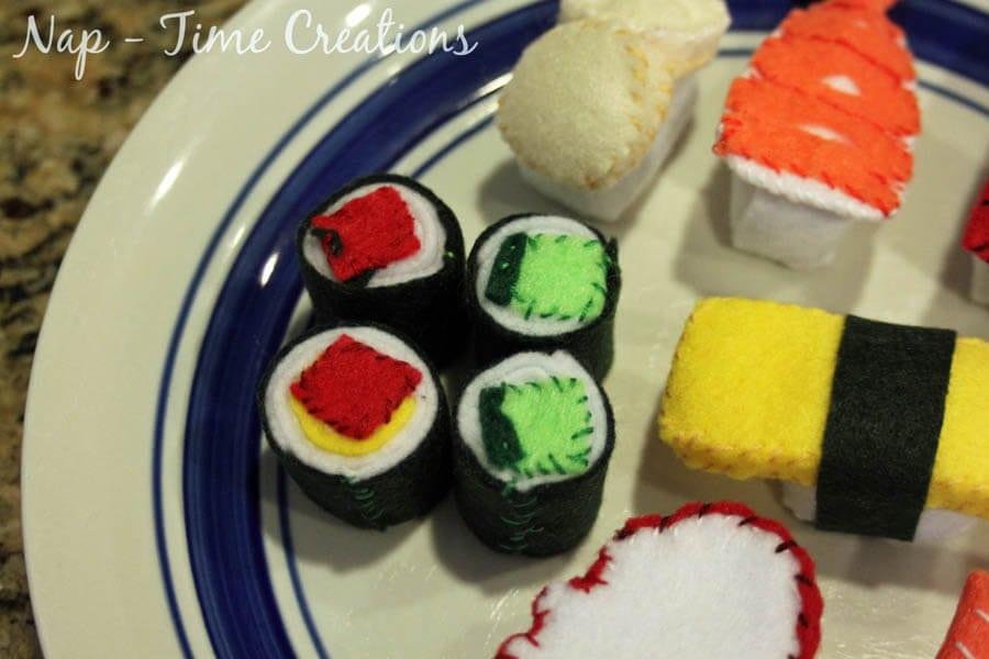 Felt Food Sushi