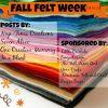 felt week graphic
