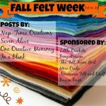 Fall Felt Week GIVEAWAY! {closed}