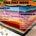 Fall Felt Week GIVEAWAY! {closed}