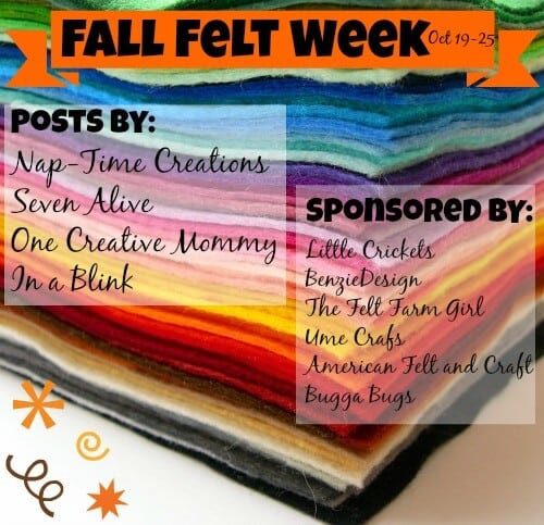 felt week graphic