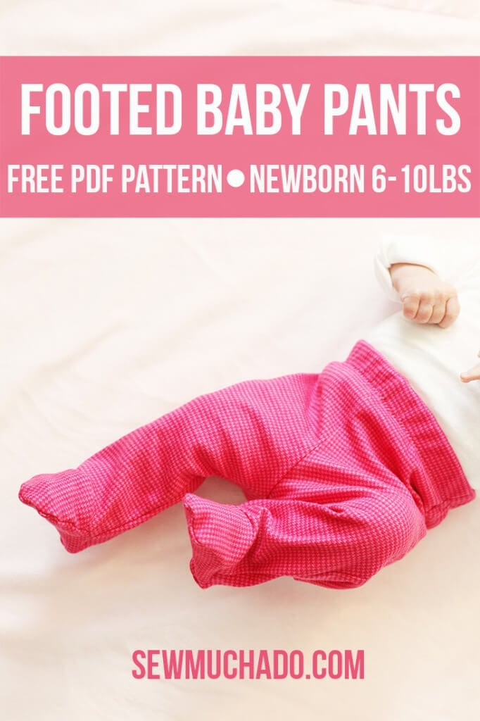 free baby footed pants