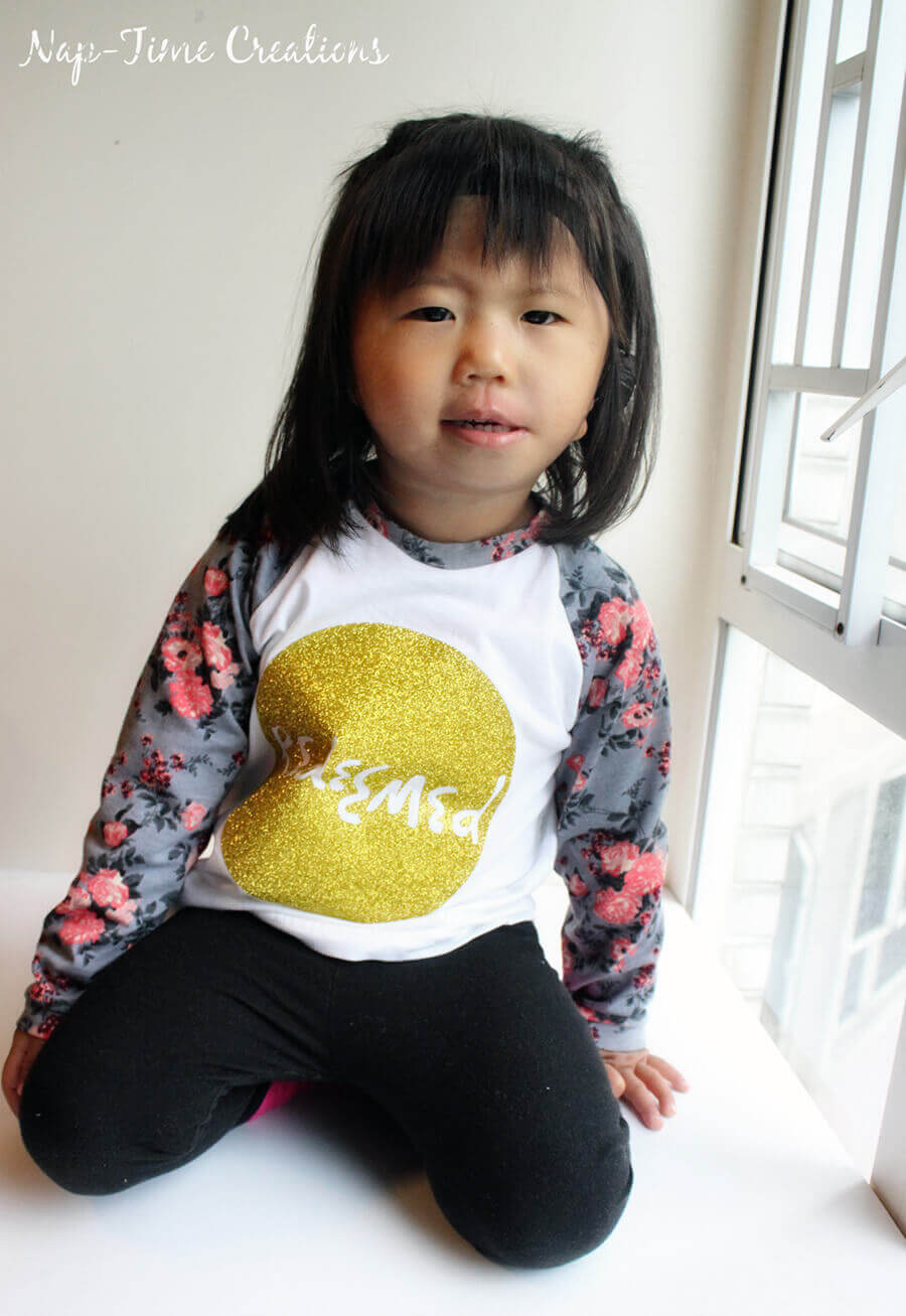 raglan shirt for girls