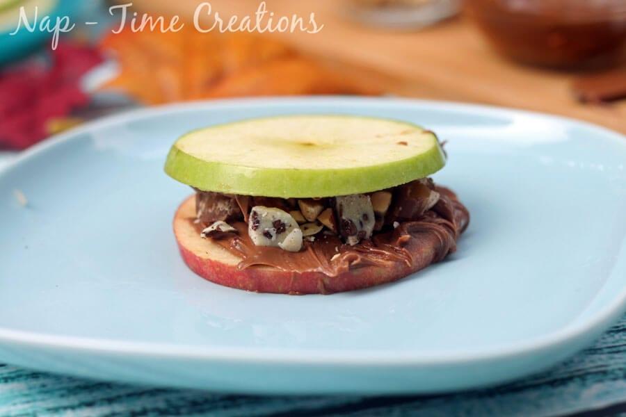 Apple Sandwich Bar #AnySnackPerfect #CollectiveBias on Nap-TimeCreations.com