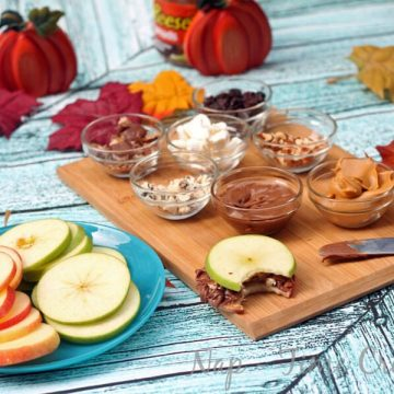 Apple Sandwich Bar #AnySnackPerfect #CollectiveBias on Nap-TimeCreations.com