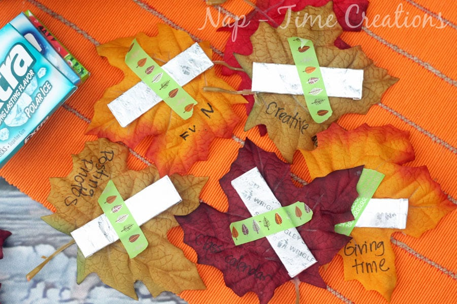 Thanksgiving Teacher Gift #ExtraGumMoments #ad