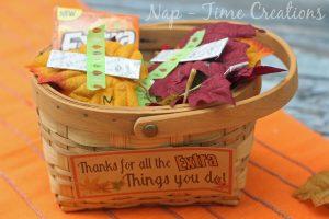 Thanksgiving Teacher Gift #ExtraGumMoments #ad