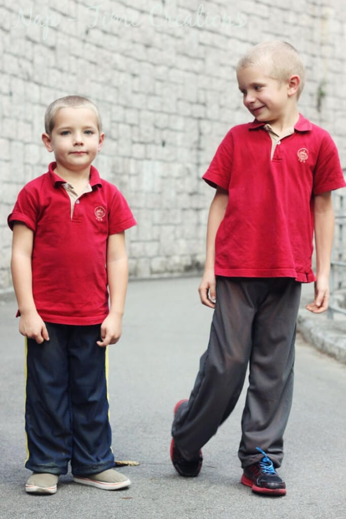 Kids Mesh Pants Pattern FREE and Tutorial