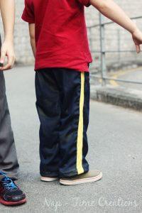Kids Mesh Pants Pattern FREE and Tutorial
