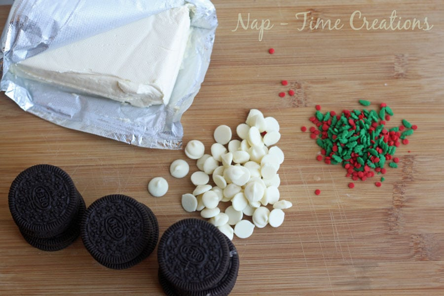 Oreo Cookie Ball Christmas Tree #OREOCookieBalls #CollectiveBias #ad on Nap-Time Creations