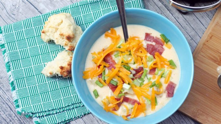 Zesty Potato Soup - Holiday Party Recipes