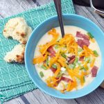Potato Soup Recipe #SeasonedGreetings #CollectiveBias Add a hint of zing to this amazing potato soup recipe for a flavor that will warm your bones on cold days!
