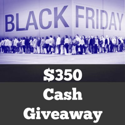 Black Friday Cash Giveaway