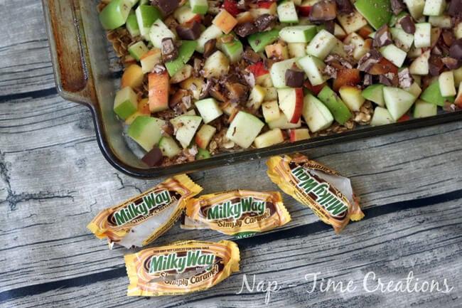 caramel apple crisp1