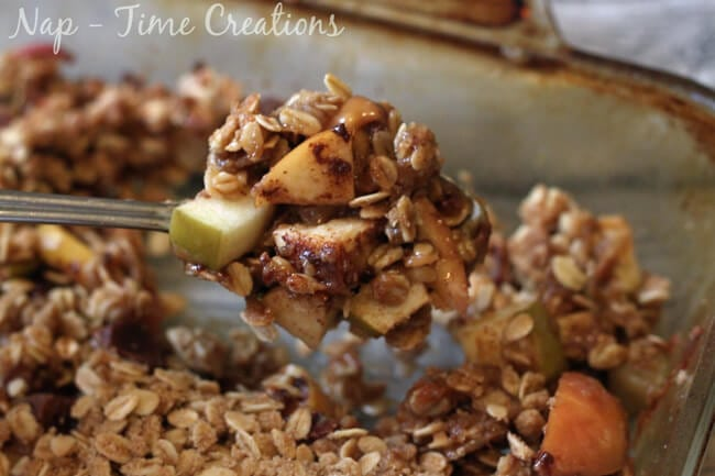 caramel apple crisp4