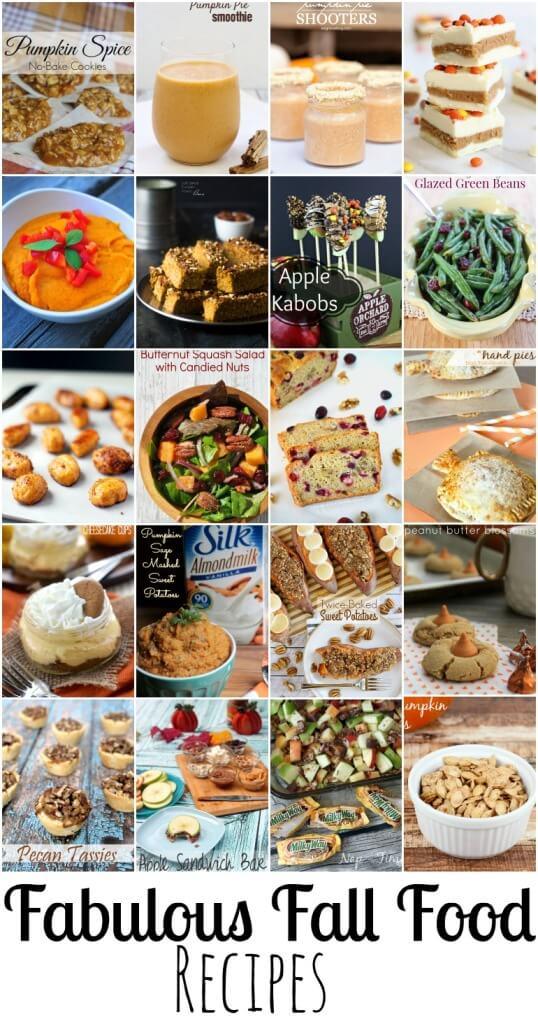 Fall Food Recipes, Fall baking, apple recipes, pumpkin recipes, fall cooking on Nap-TimeCreations.com