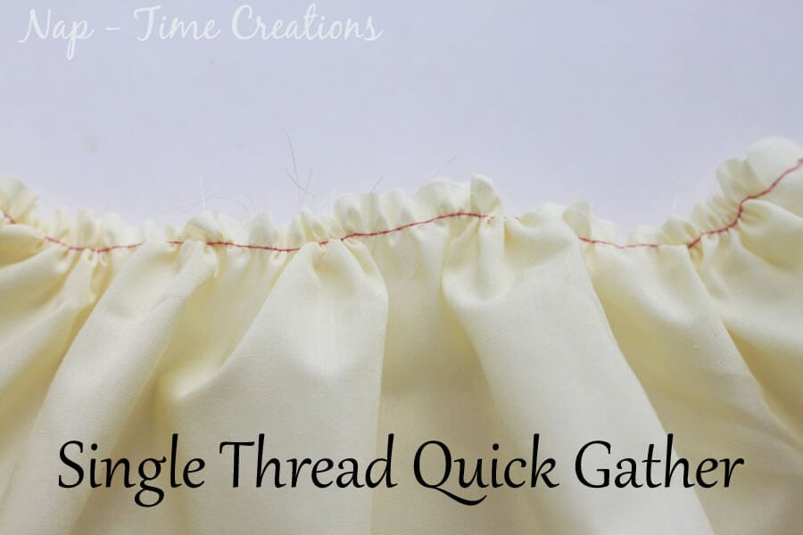 five ways to gather fabric4