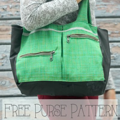 Free Purse Pattern – perfect for winter