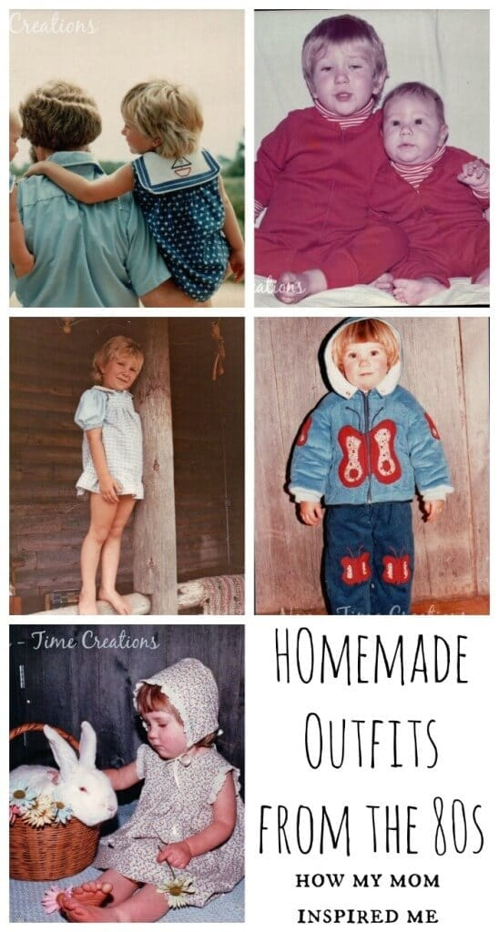 homemade outfits from the 80s
