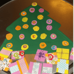 Magnetic Christmas Tree Kid's Craft