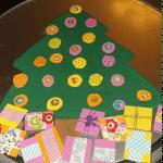 Magnetic Christmas Tree Kid's Craft