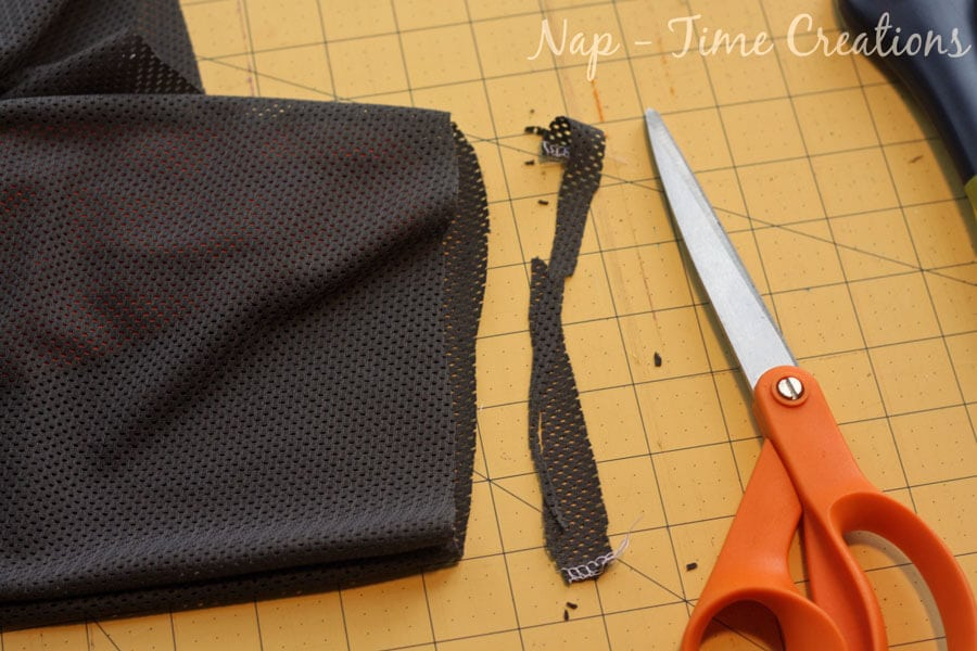 mesh pants sewing tutorial
