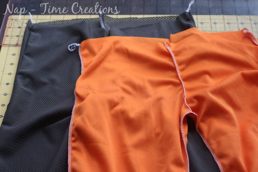 Mesh pants sewing pattern and tutorial