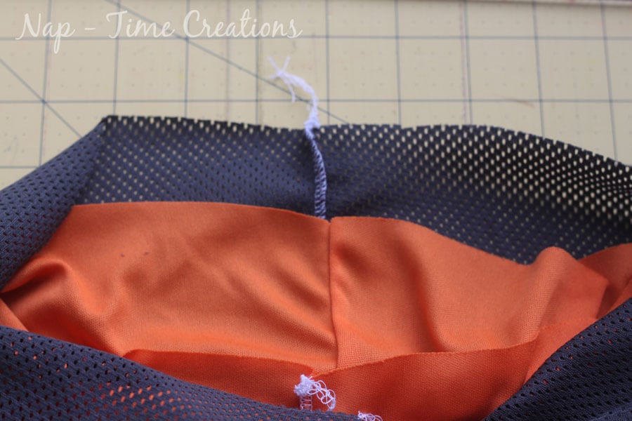 mesh pants tutorial and sewing pattern