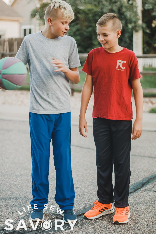 kids free mesh pants pattern