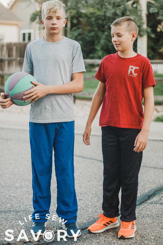 kids mesh pants pattern