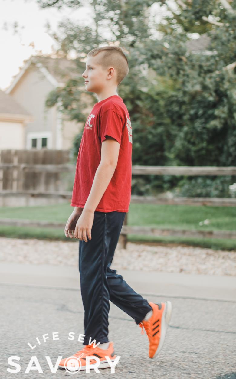 mesh pants pattern for kids free
