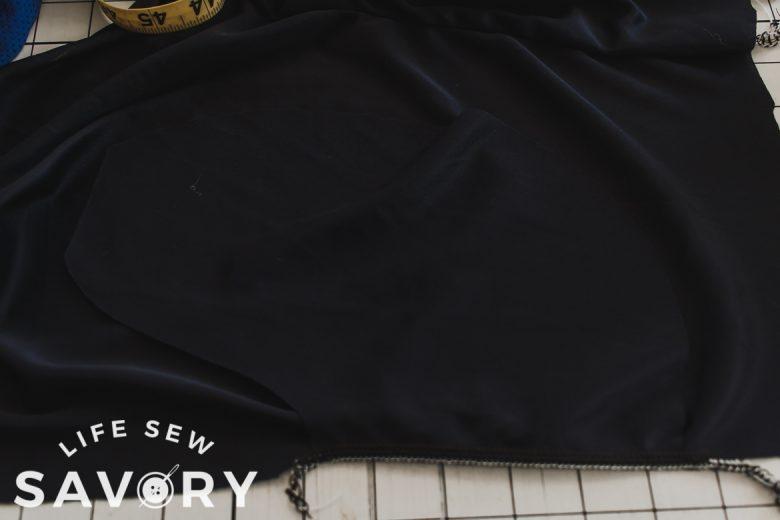 sew side seam pocket in pants