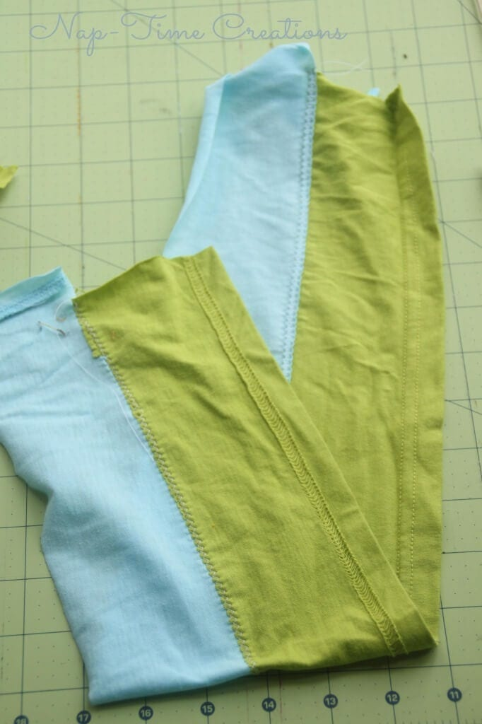 DIY Striped Fabric